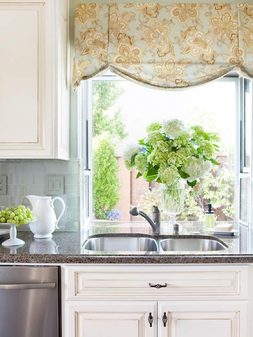 Kitchen Curtain And Valance Ideas