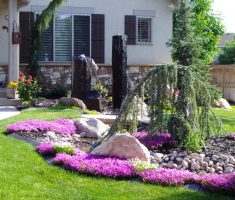 alluring colorful landscaping ideas for front yard