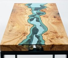 alluring reclaimed recycled wood furniture for table
