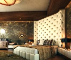 amazing tall and high headboard ideas bedroom