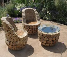 amazing creative remarkable patio recycled wood furniture