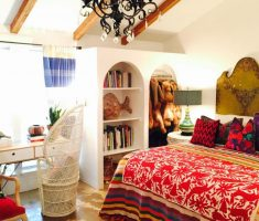 attic-mexican-bedrrom-interior-design-for-mexican-home-style-decor