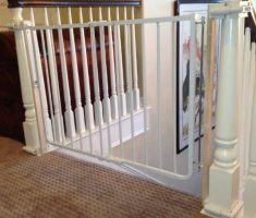 baby gates for stairs with no walls