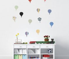 ballons wall stickers bedrooms