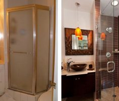 beautifull before and after small bathroom remodeling