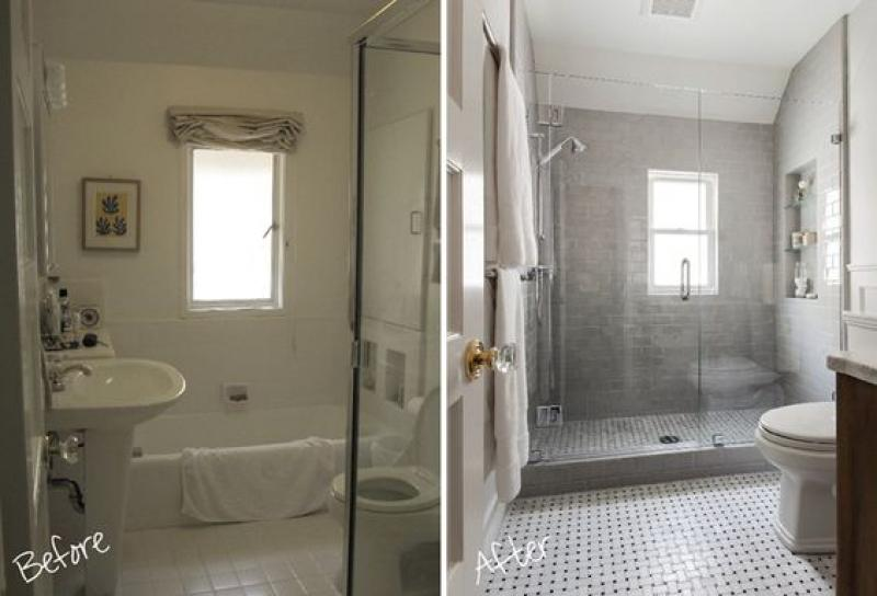 Bathroom Remodel Ideas Before And After before-and-after-small-bathroom-remodeling | home inspiring