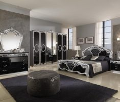 black and silver bedroom decorating ideas for queen master bedroom