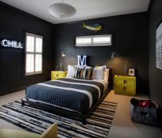 black boys room ideas