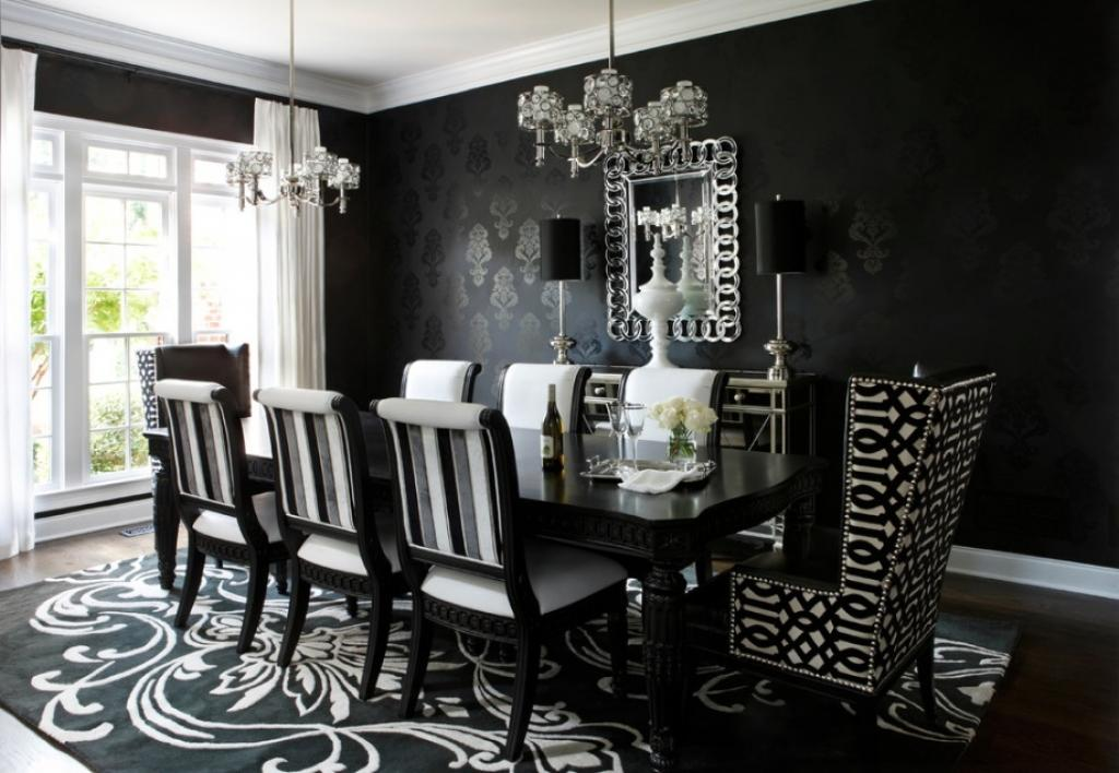 black-dining-room-victorian-gothic-style-interior-design