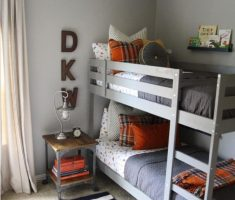 boy room ideas with bunk beds for small space
