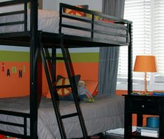 boy room ideas with bunk beds with black bedroom furnitures color