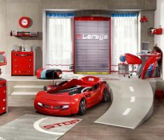 boys room ideas with car bedroom
