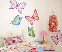 butterflys wall stickers girls bedrooms