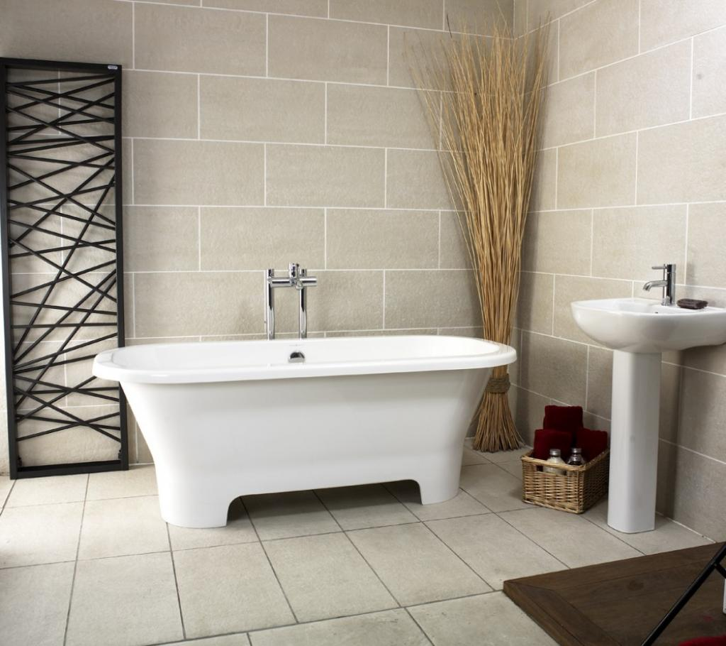 Luxurious corner freestanding clawfoot bathtubs home for Free bathroom designs