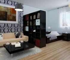 cheap and stylish simple interior design apartment studio