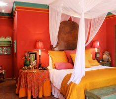 cheerful mexican bedroom interior design for mexican style decor