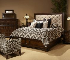 classical cushion headboard bedroom sets with wooden bedrooms furniture