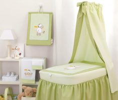 classical green lime theme baby nursery furniture by cambarss