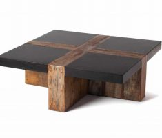 coffee table from reclaimed recycled wood furniture