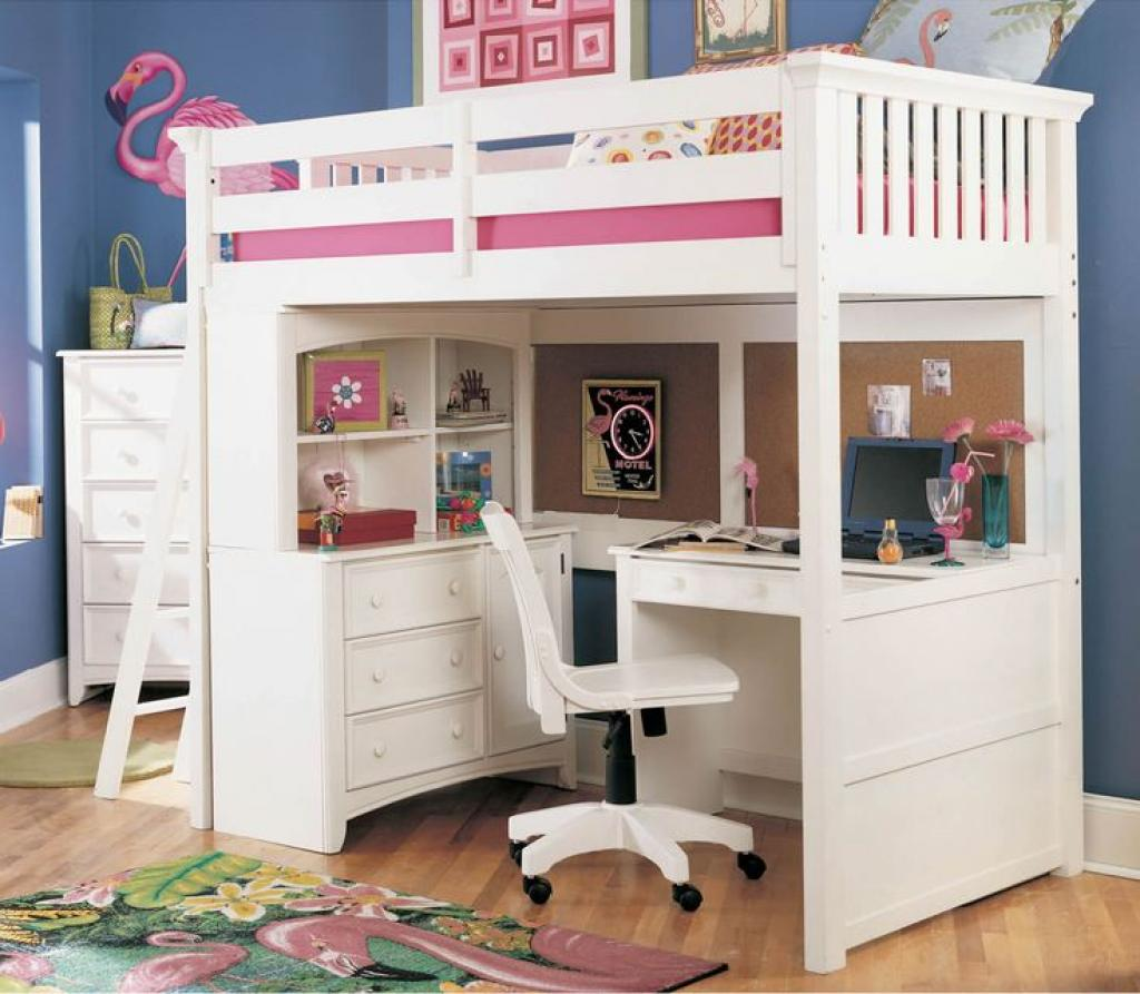 compact-girls-white-bedroom-furniture-with-study-table