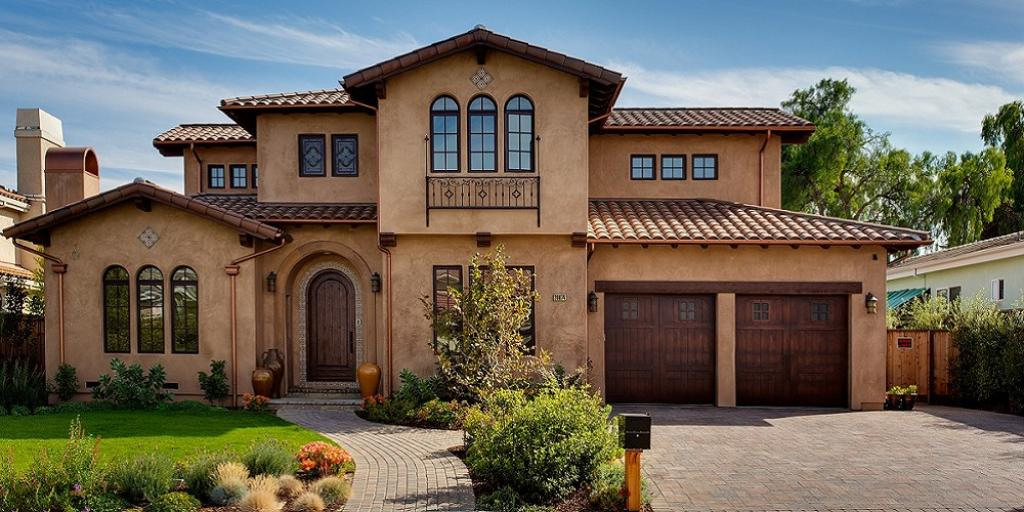 Contemporary Mediterranean Tuscan Style Homes