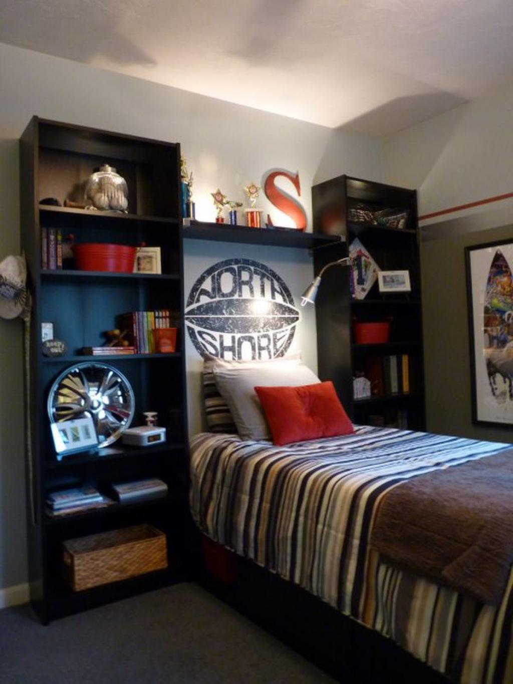 Cool boy room ideas small spaces with shelves furniture home inspiring