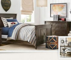 cool boys room ideas with wooden bed materials