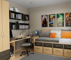 cool for space saving boys room for small space
