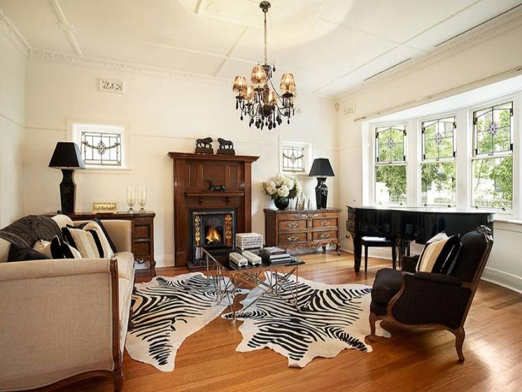 Cool Victorian Edwardian Style Interior Design With Zebra