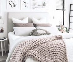 cozy gloss white bedroom furniture with all white bedroom theme