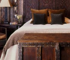 creative carving wood headboard ideas bedroom