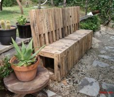 creative recycled wood furniture for outdoor chairs