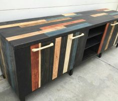 creative remarkable recycled pallet wood furniture for cabinet storage
