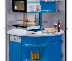 ergonomic small cabinet appliances for small apartments home