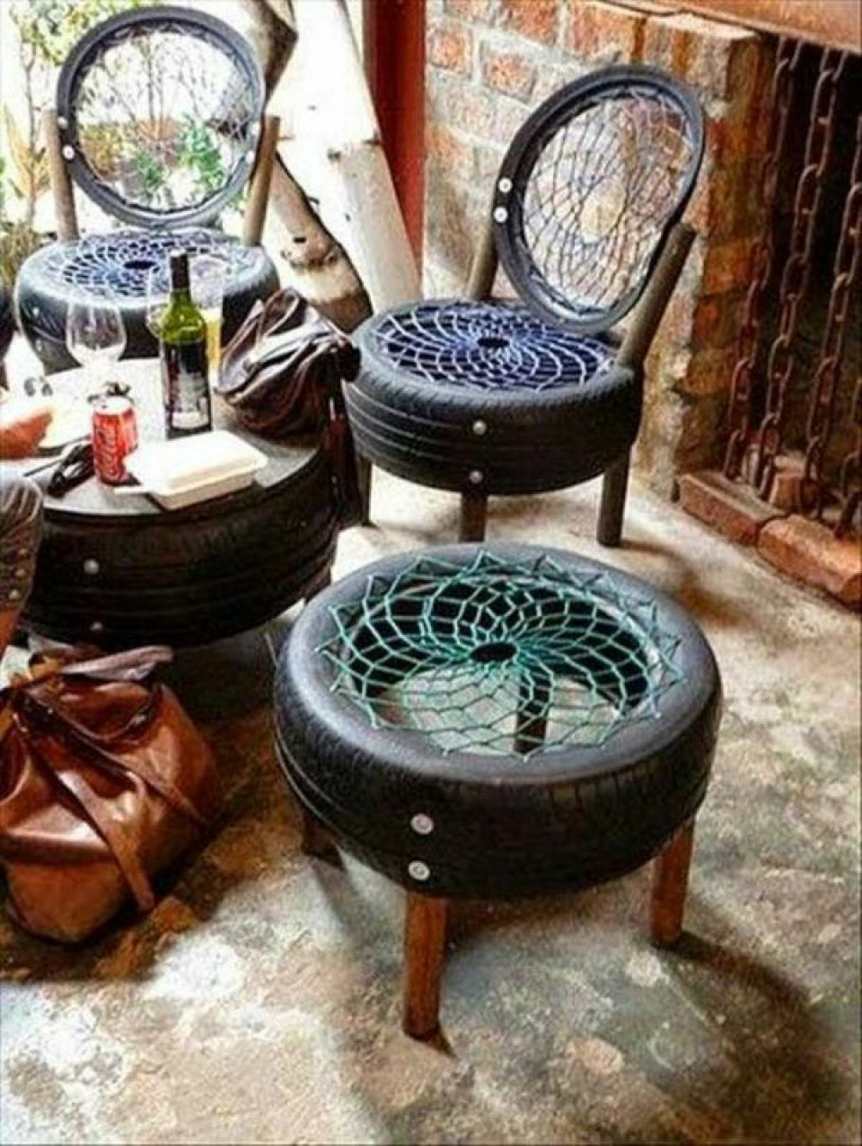 Creative Tire Diy Recycled Furniture Ideas For Waste Materials