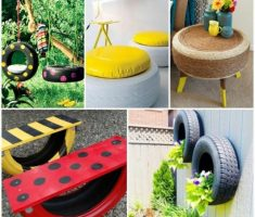 creative tires diy recycled furniture ideas