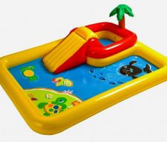 cute plastic garden pool for baby