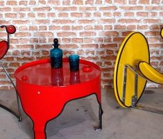 cute and stylish recycled metal furniture