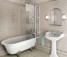 cute freestanding bathtubs with shower