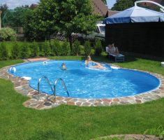 cute inground swimming pools for small backyards