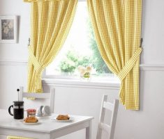 cute nice yellow small drapery valances window treatments dining window