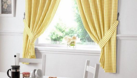 cute-nice-yellow-small-drapery-valances-window-treatments-dining-window