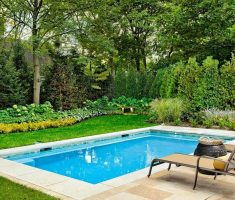 cute small rectangle inground swimming pools