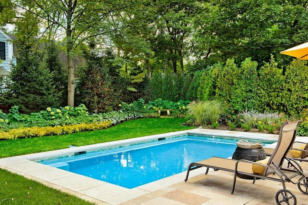 Cute Small Rectangle Inground Swimming Pools Home Inspiring