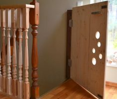 diy baby gates for stairs wooden door