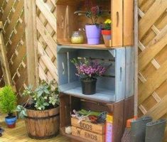 diy recycled furniture ideas for pot flowers