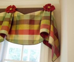 diy valance kitchen window treatment ideas