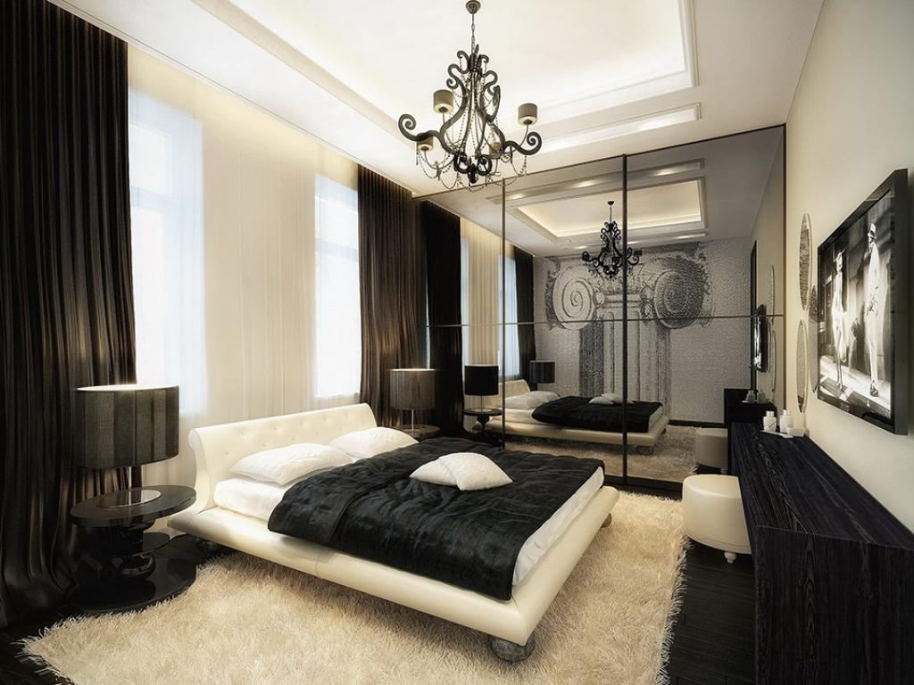 elegant-black-and-white-bedroom-with-white-rug-and-furniture