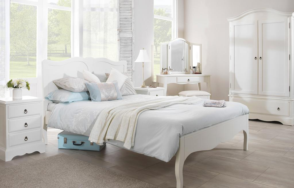 elegant white bedroom furniture for girls with white