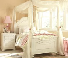enchanting girls white bedroom furniture with whtie curtain canopy bedroom for girl